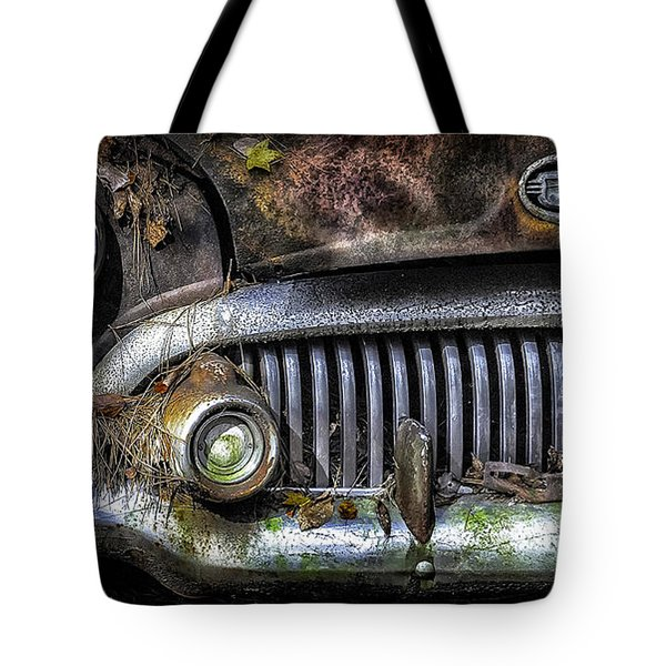 Old Buick Front End Tote Bag