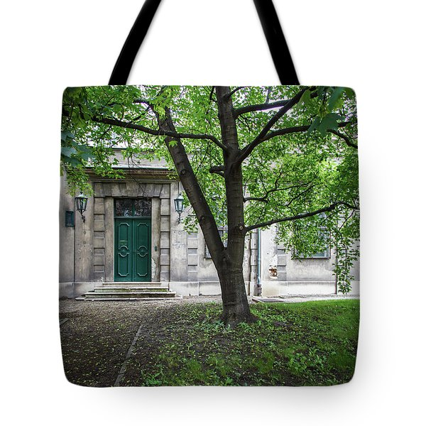Old Building Exterior Tote Bag by Teemu Tretjakov