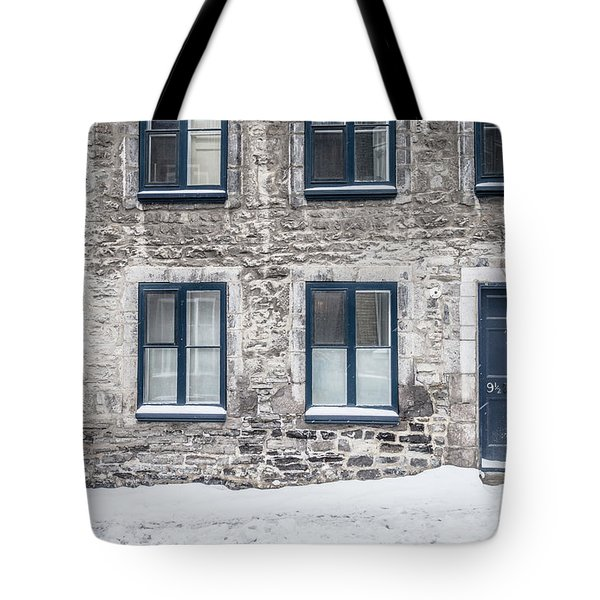 Old Building In Quebec City Tote Bag