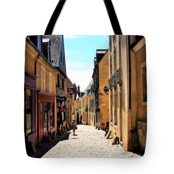 Old Buildings In France Tote Bag