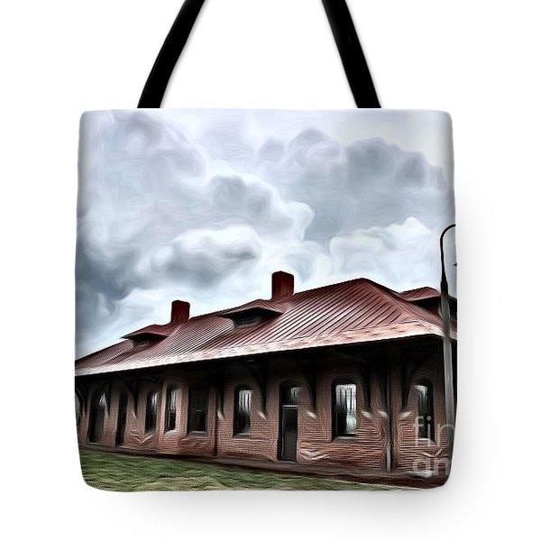 Old Burkeville Station Tote Bag