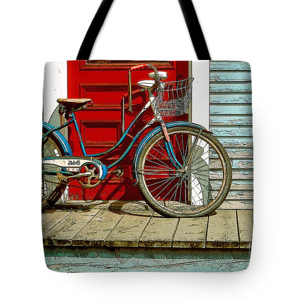 Old Bicycle. Warren, Vermont Tote Bag