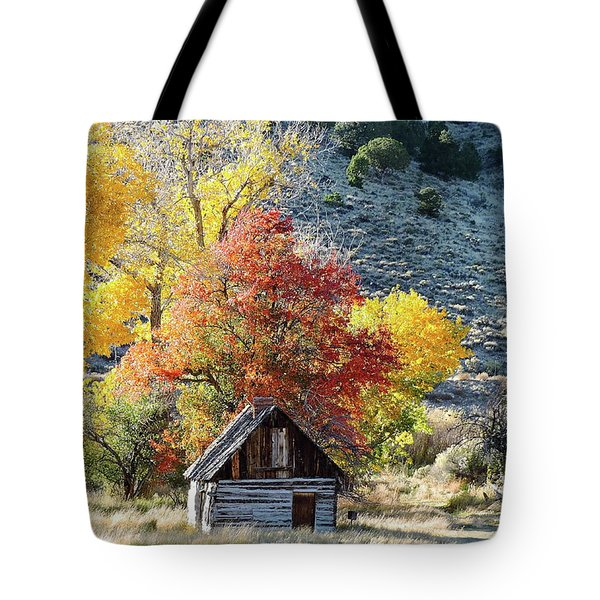.  Butch Cassidy's Home Place  Tote Bag