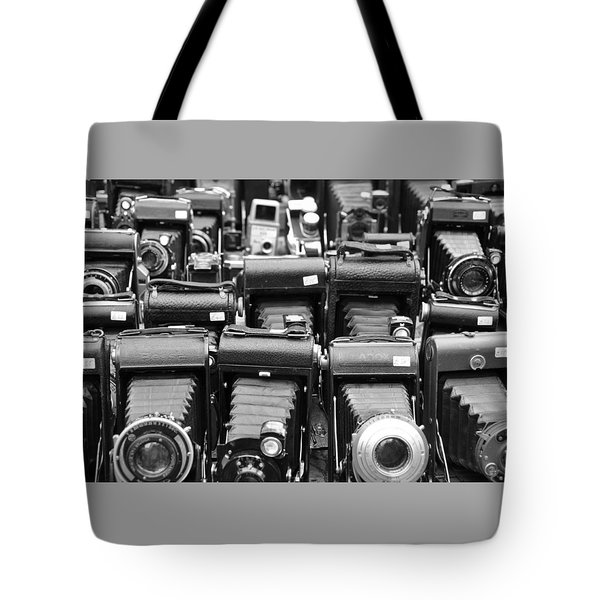 Old Cameras Tote Bag