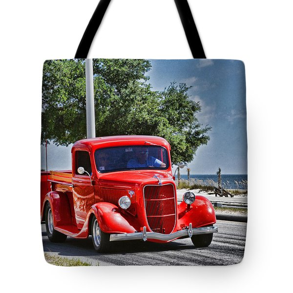 Old Car 2 Tote Bag