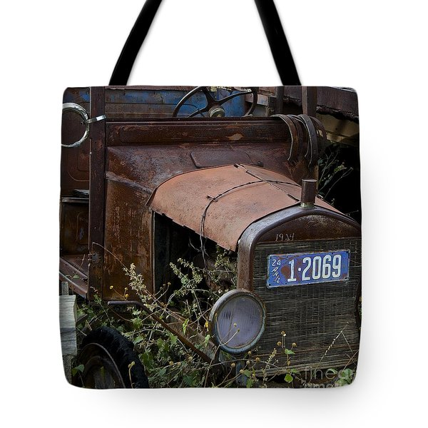 Old Car Tote Bag by Anthony Jones