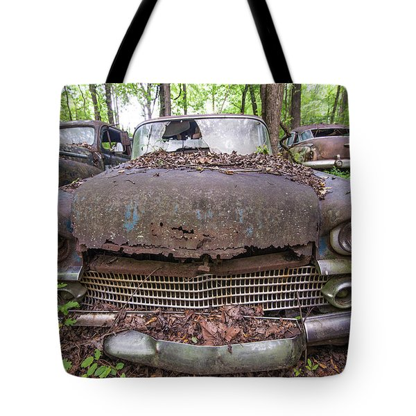 Old Car City In Color Tote Bag