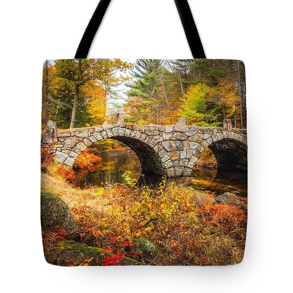 Old Carr Bridge Tote Bag