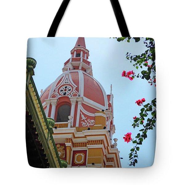 Old Cartagena 21 Tote Bag