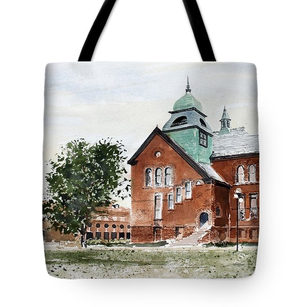 Oklahoma State University Old Central Tote Bag