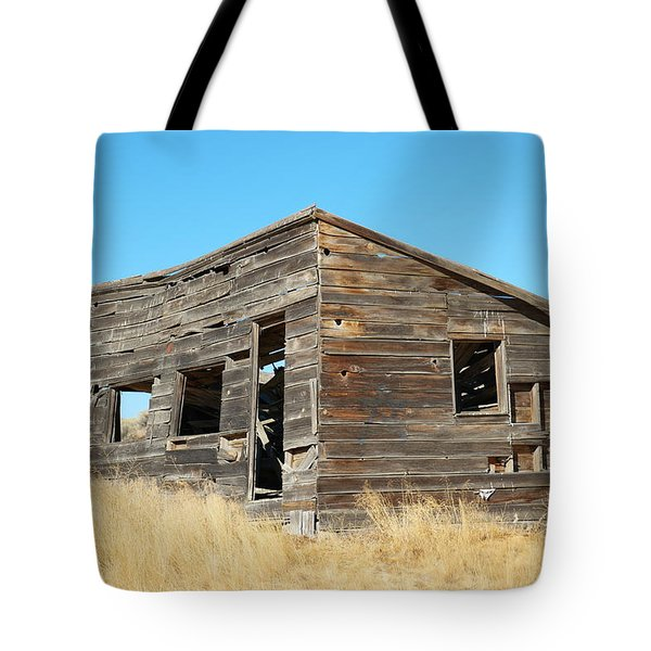 Old Chicken Coop Tote Bag