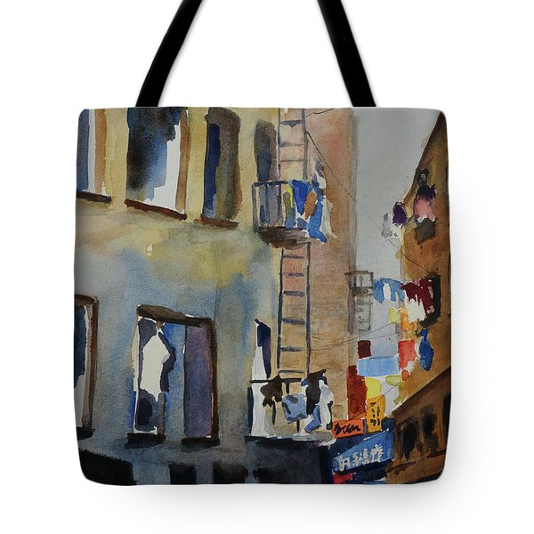 Old Chinatown Lane Tote Bag
