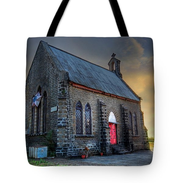 Old Church Tote Bag by Charuhas Images