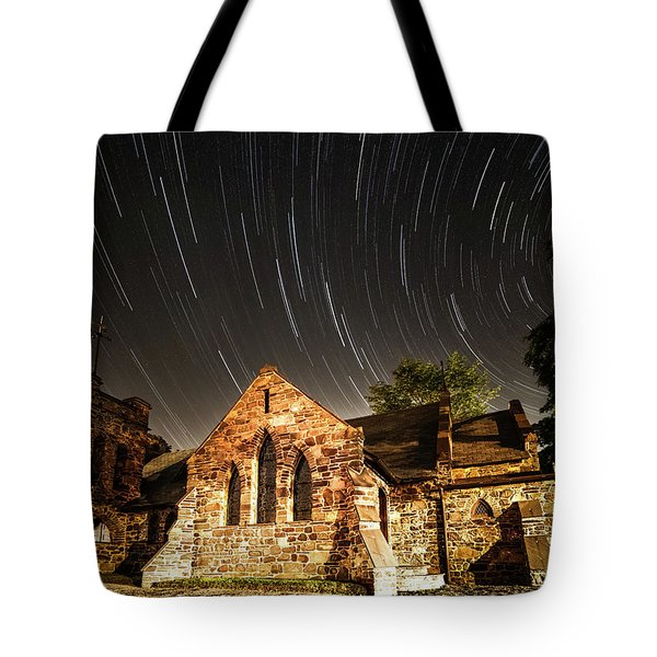 Old Church Tote Bag by Edgars Erglis