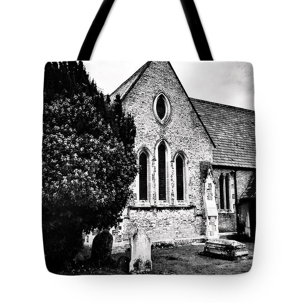 Old Church Tote Bag by Andrew Hunter