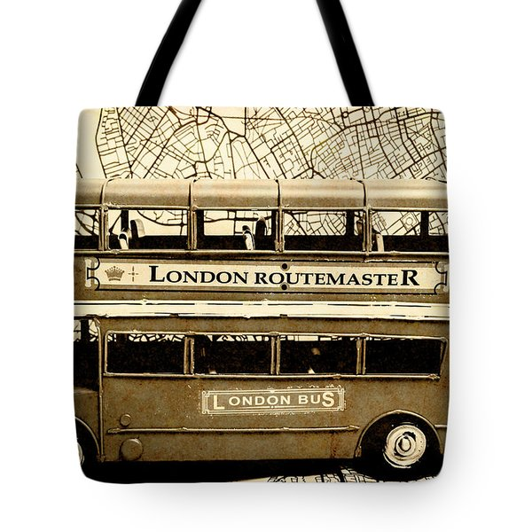 Old City Bus Tour Tote Bag