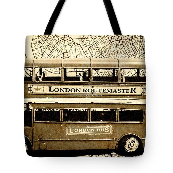 Old City Bus Tour Tote Bag