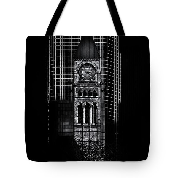 Tote Bag featuring the photograph Old City Hall Toronto Canada No 1 by Brian Carson