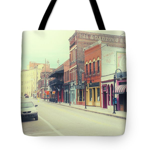 Tote Bag featuring the photograph Old City by Rick Baldwin