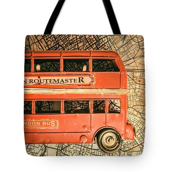 Old City Transit Tote Bag