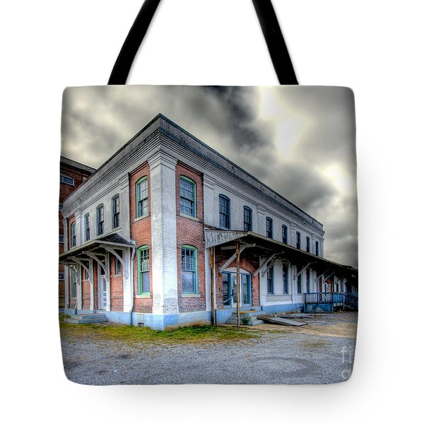 Old Clinchfield Train Station Tote Bag