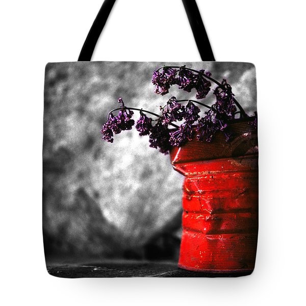 Old Coffee Can Tote Bag