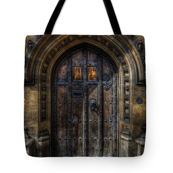 Old College Door - Oxford Tote Bag