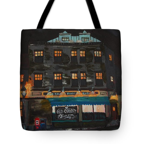 Old Colony Running Events Tote Bag