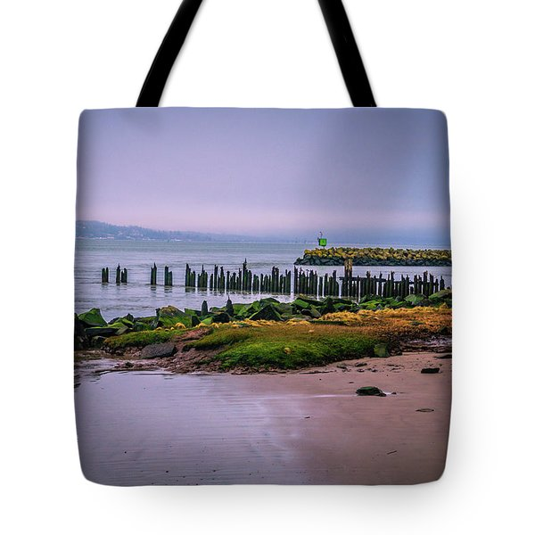 Old Columbia River Docks Tote Bag