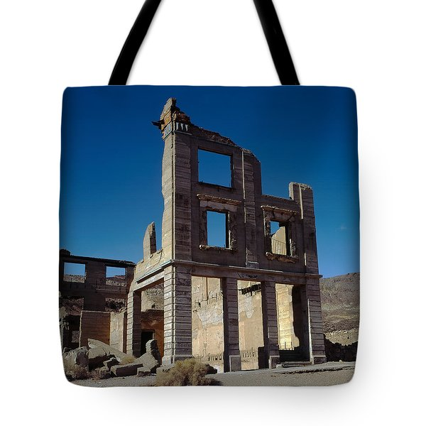 Old Cook Bank Building Tote Bag