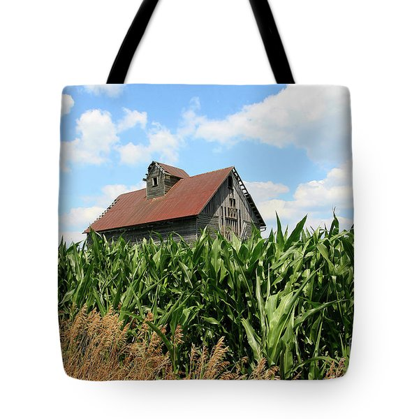 Old Corn Crib Tote Bag