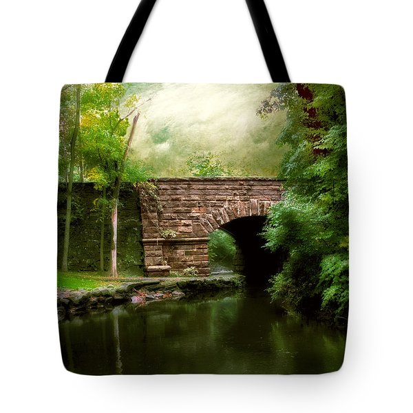Old Country Bridge Tote Bag
