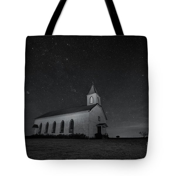 Old Country Church Tote Bag by Keith Kapple