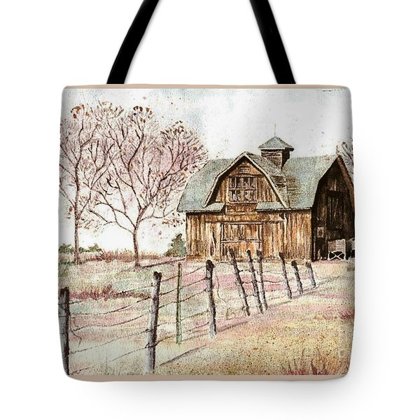 Old Crawford Colorado Barn Tote Bag
