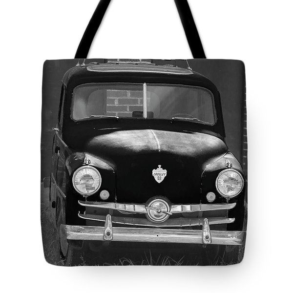 Old Crosley Motor Car Tote Bag