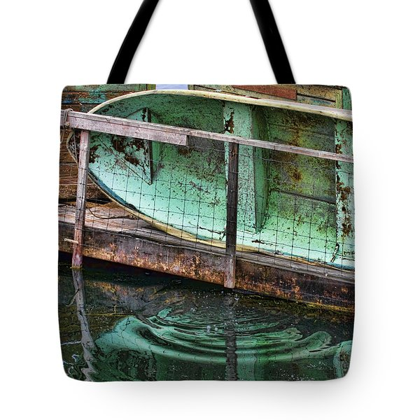Old Crusty Dinghy Tote Bag