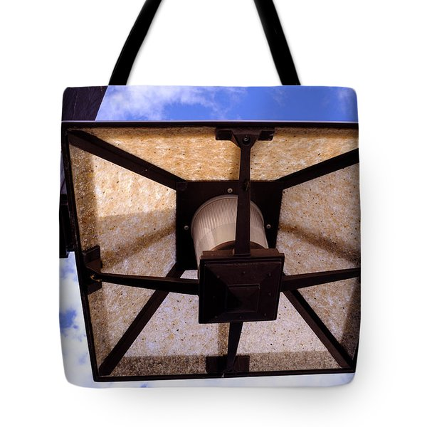 Old Dirty Light Fixture In Orlando Florida Tote Bag