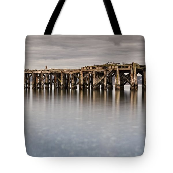 Old Dock Tote Bag