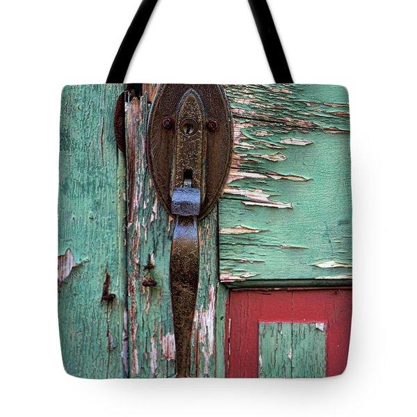 Old Door Knob 2 Tote Bag