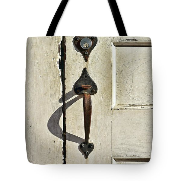 Old Door Knob 3 Tote Bag