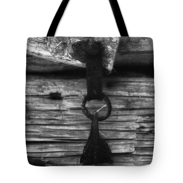 Old Door Latch Tote Bag
