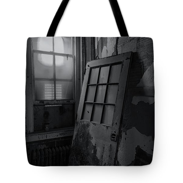 Tote Bag featuring the photograph Old Door by Tom Singleton