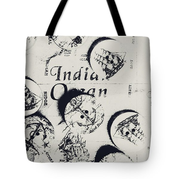 Old East India Trading Routes Tote Bag