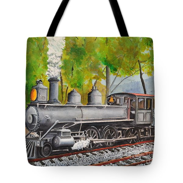 Old Engine 8 Tote Bag