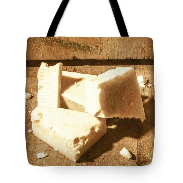 Old English Cheese Tote Bag