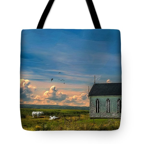 Old Evangeline Church Tote Bag