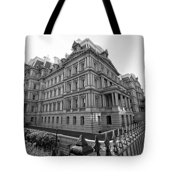 Old Executive Office Building Tote Bag