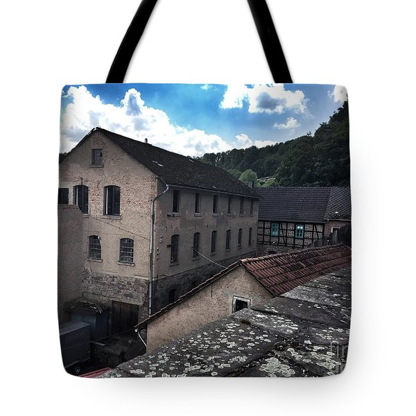 Old Factory  Tote Bag
