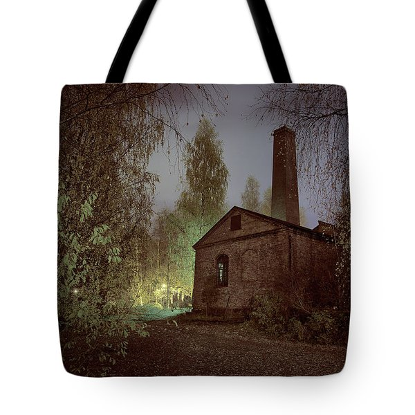 Old Factory Ruins Tote Bag