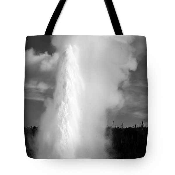 Tote Bag featuring the photograph Old Faithful by Colleen Coccia